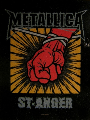 vlajka Metallica - St.Anger - HFL725