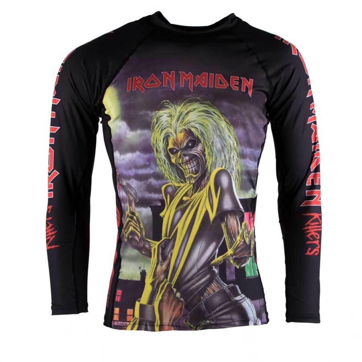 tričko pánske s dlhým rukávom (technickej) TATAMI - Iron Maiden - Killers - TAT010