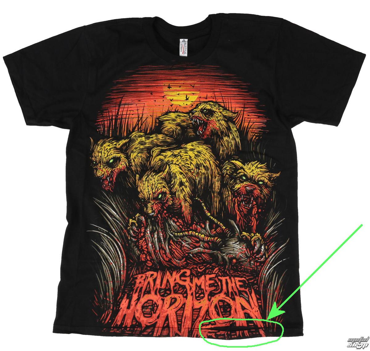 tričko pánske Bring Me The Horizon - Cheetah - BRAVADO - POŠKODENÉ - BEA086