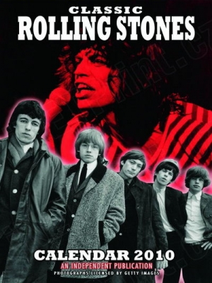 kalendář na rok 2010 - Rolling Stones