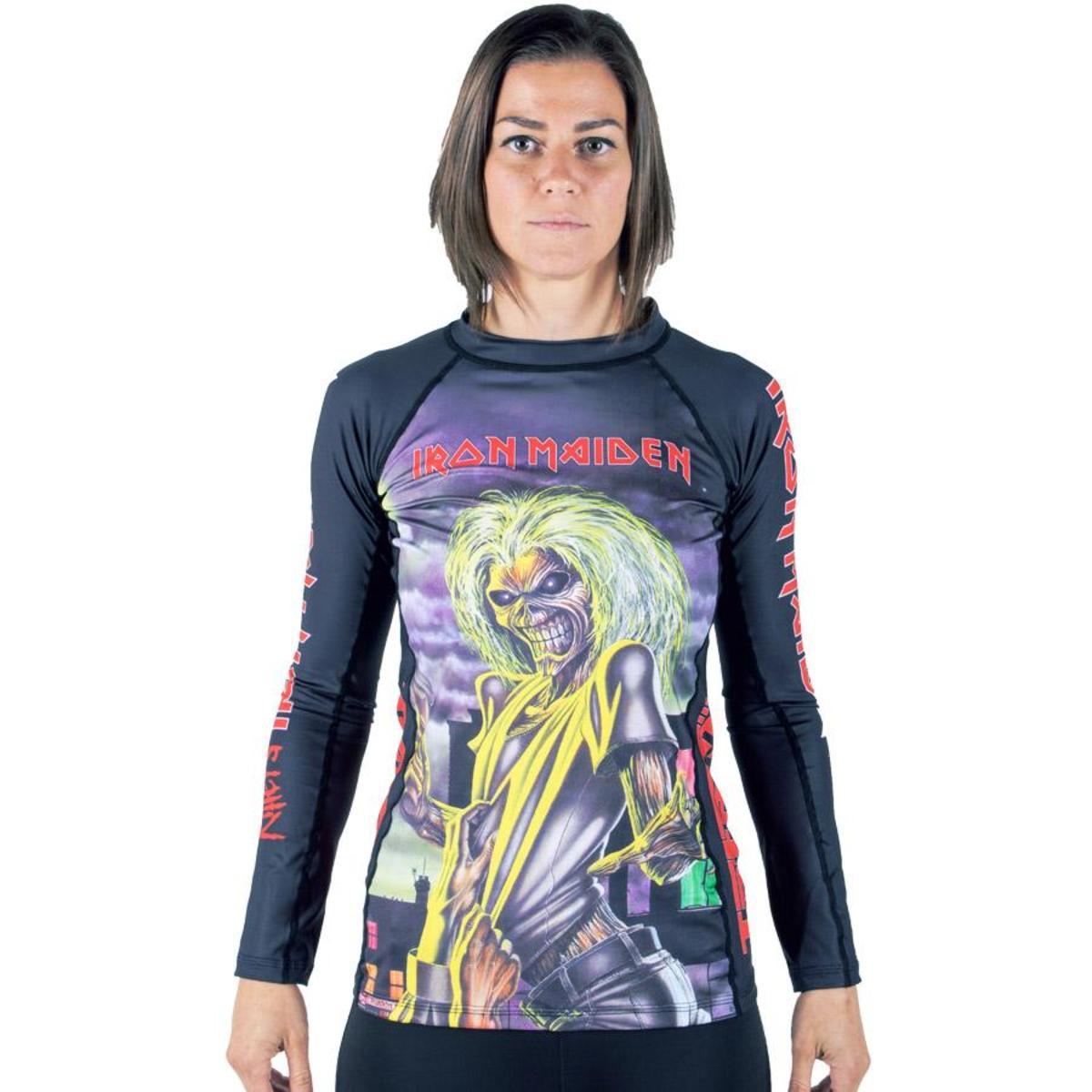 tričko dámske s dlhým rukávom (technickej) TATAMI - Iron Maiden - Killers - Rash Guard - TAT007