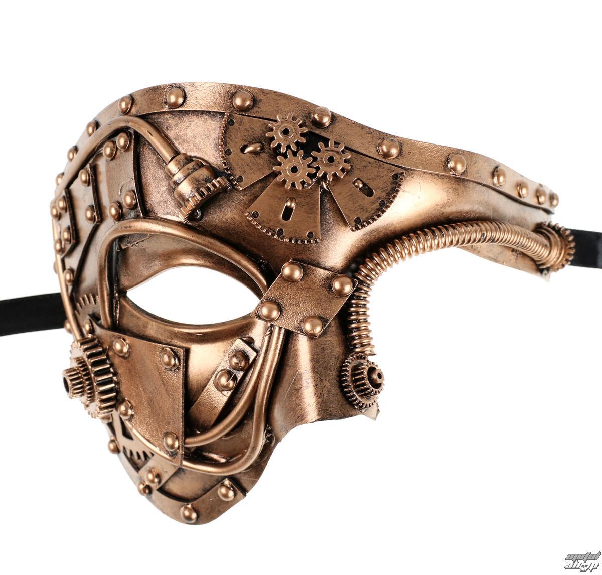 maska ZOELIBAT - Steampunk-Halbmaske - 97345341.074