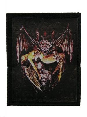 nášivka s potlačou Demon 1 - 65 - MIRMS