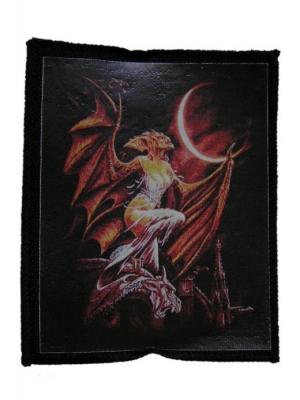 nášivka s potlačou  Demon 3 - 78 - MIRMS
