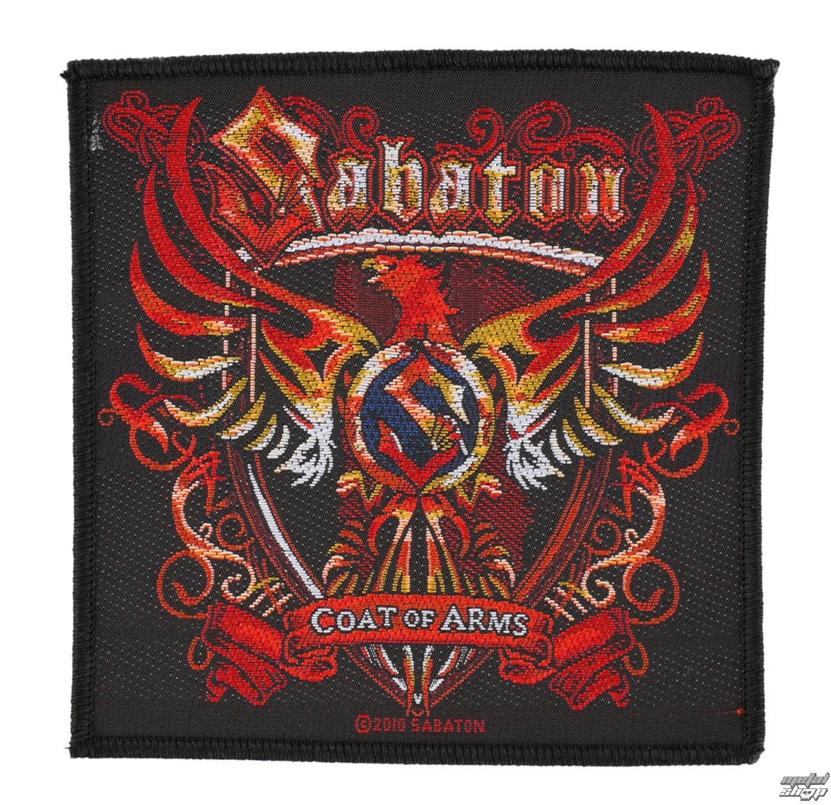 nášivka SABATON - COAT OF ARMS - RAZAMATAZ - SP2471