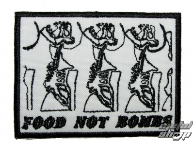 nášivka Food not Bombs 1