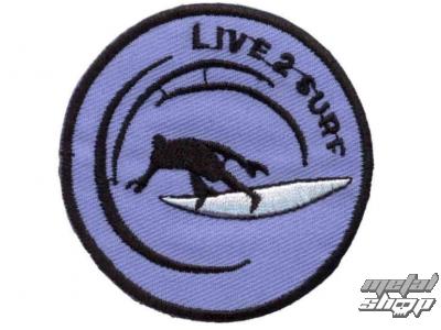 nášivka nažehlovacia Live 2 Surf - 67173-024