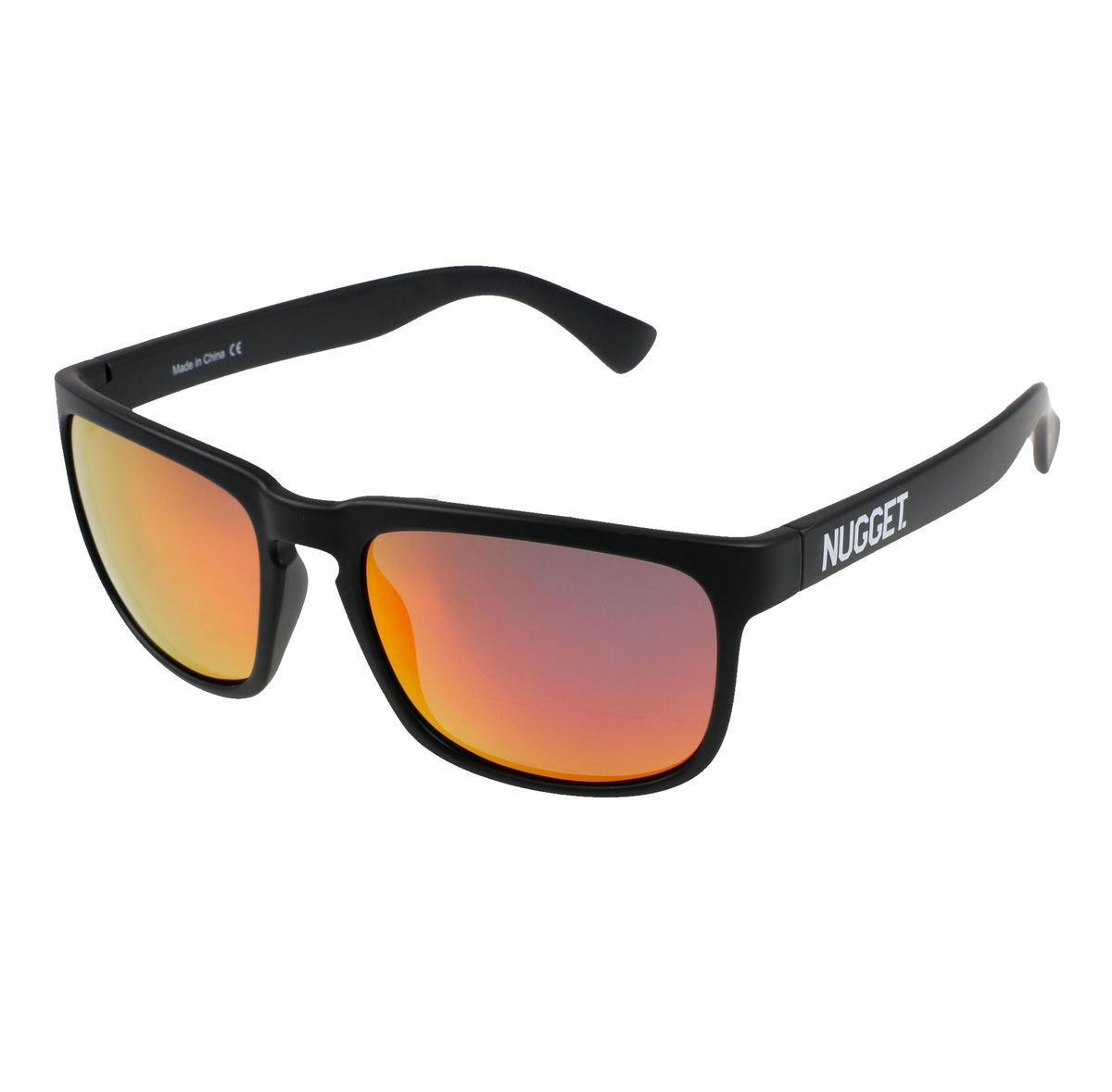 okuliare slnečné NUGGET - CLONE E 4/17/38 - BLACK RED - MEAT128