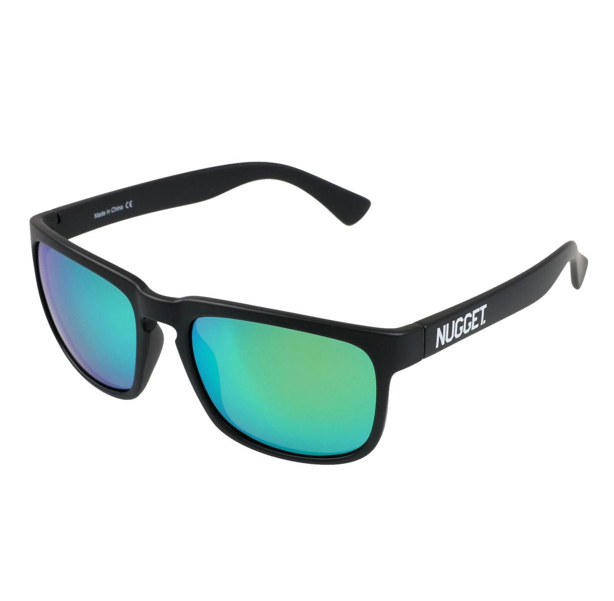 okuliare slnečné NUGGET - CLONE D 4/17/38 - BLACK GREEN - MEAT127