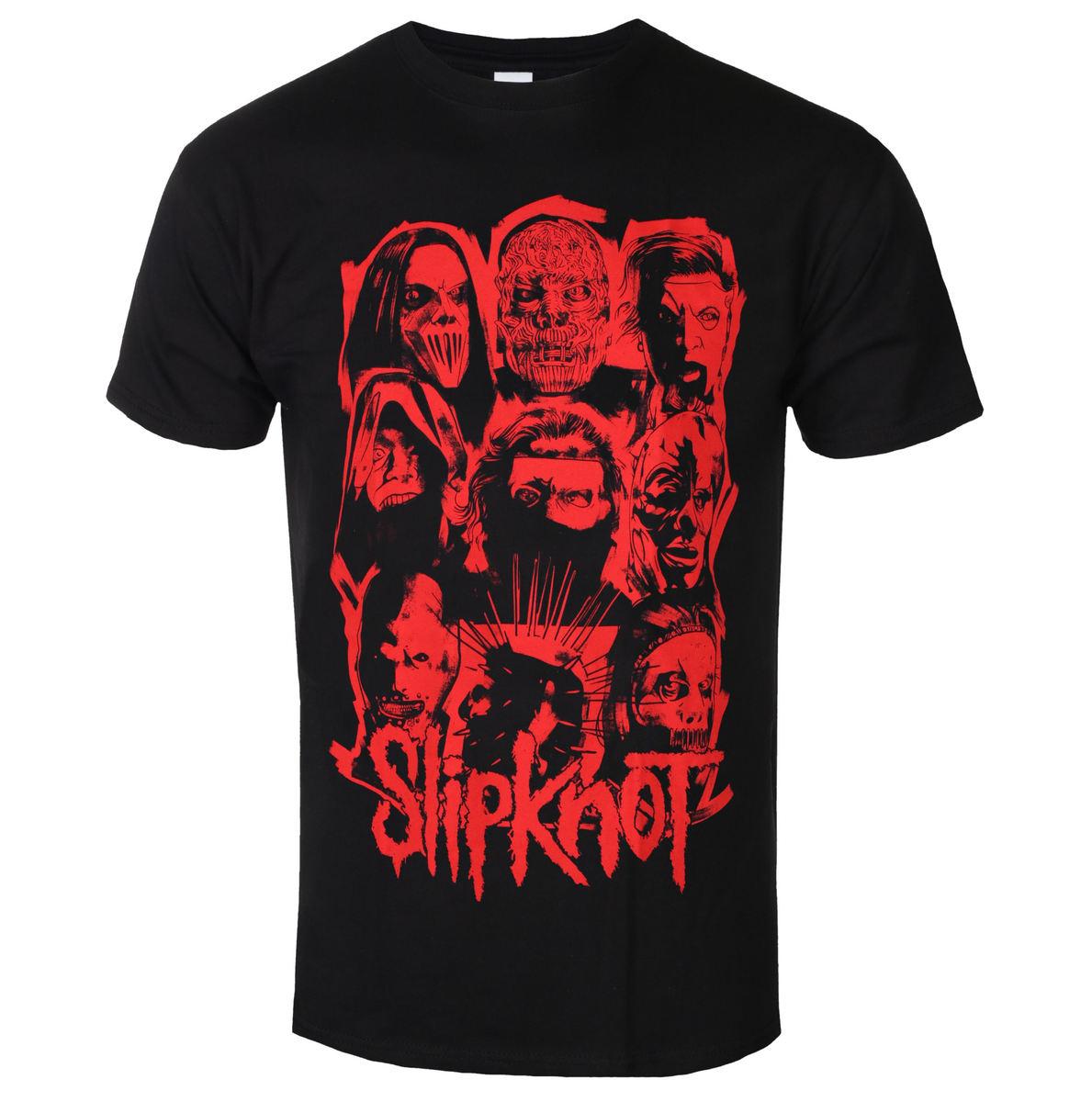 ROCK OFF Slipknot WANYK Red Čierna