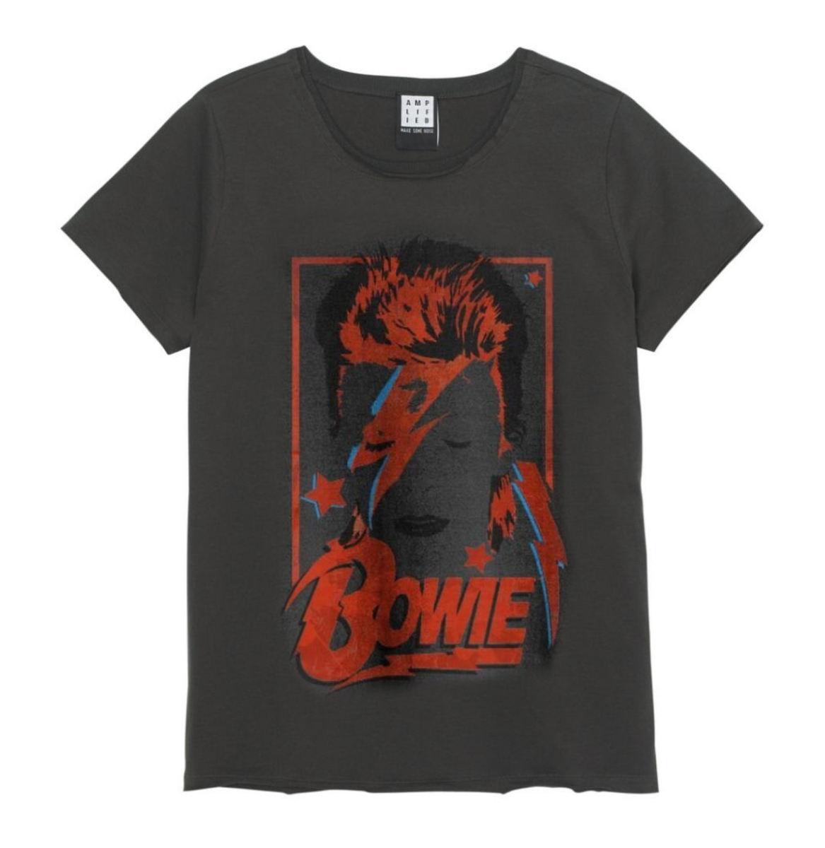 AMPLIFIED David Bowie Alladin sane Čierna