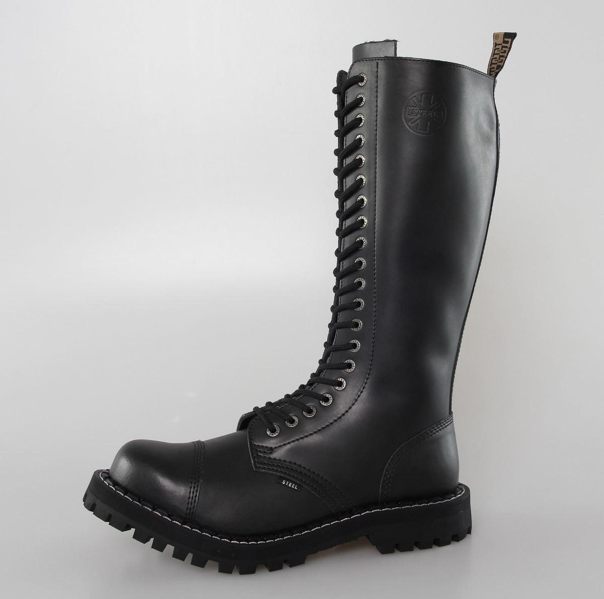 DOPRAVA ZADARMO topánky STEEL - 20 dierkové 83dbb9dec37