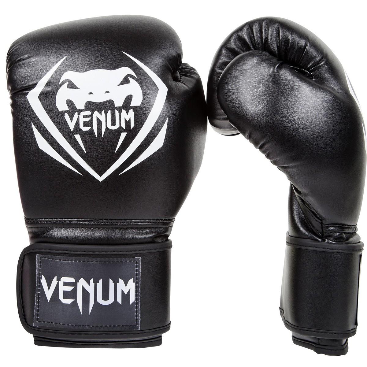 boxerské rukavice VENUM - Contender - Black - 1109 100Z