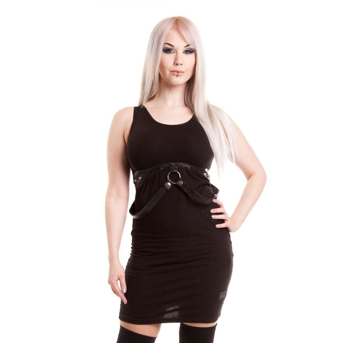 šaty dámske VIXXSIN - Voyage - Black - POI120 - metalshop.sk 5570fa21401