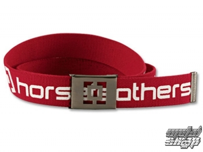 Opasok HORSEFEATHERS - ICON - RED