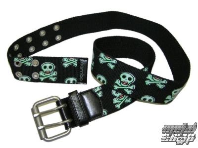 opasok plátený MAMBO - Lady Skull Belt - ALL005
