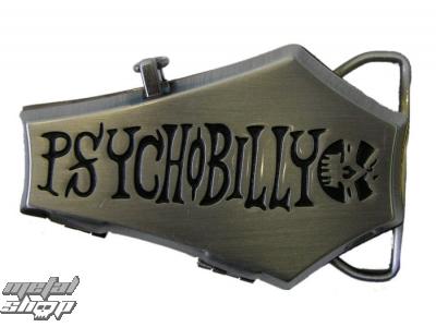 pracka na kožený opasok Psychobilly 1