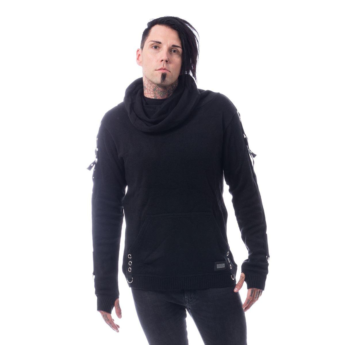 sveter pánsky VIXXSIN - REACTOR - BLACK - POI795
