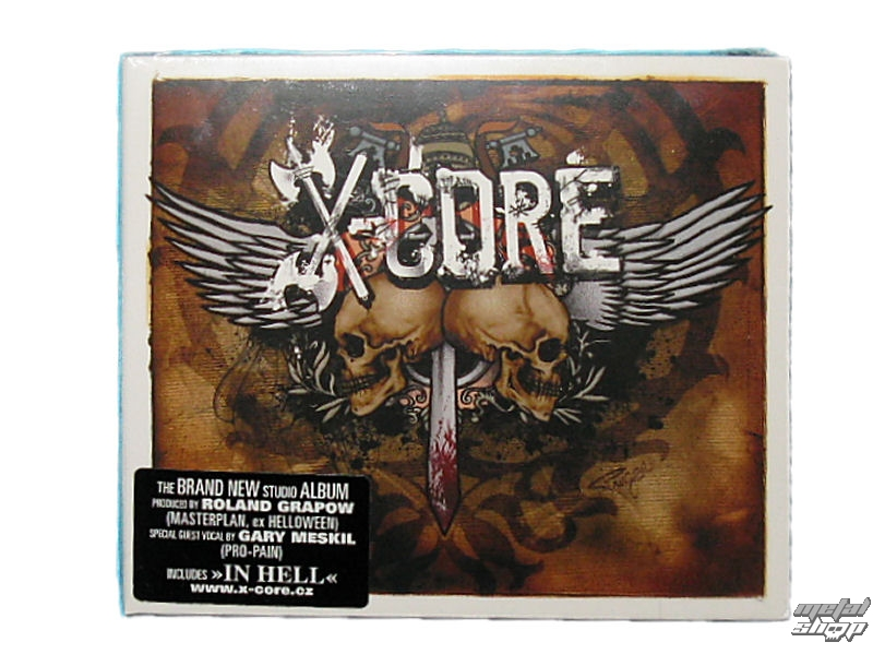 "CD X-CORE ""In Hell"""