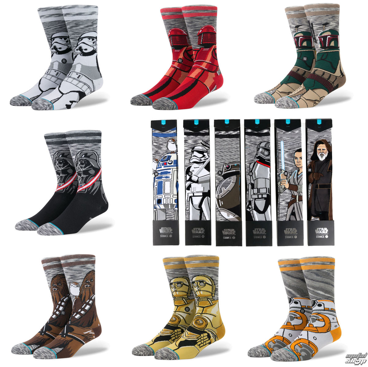 ponožky (sada 13 ks) STAR WARS - COLLECTION - STANCE - MD17PKCOL-MUL