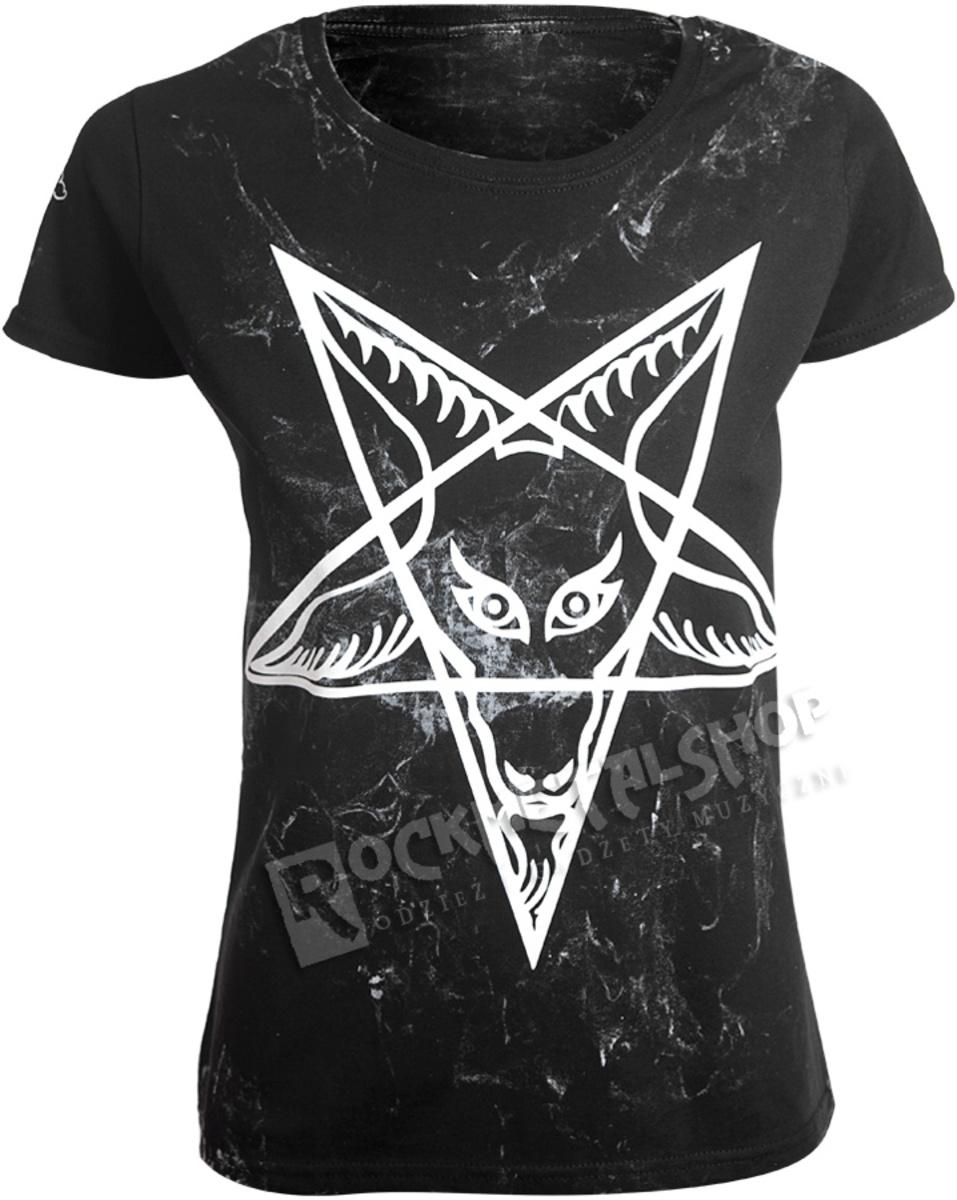 989153ead597 tričko dámske AMENOMEN - PENTAGRAM - WHITE - OMEN032DA