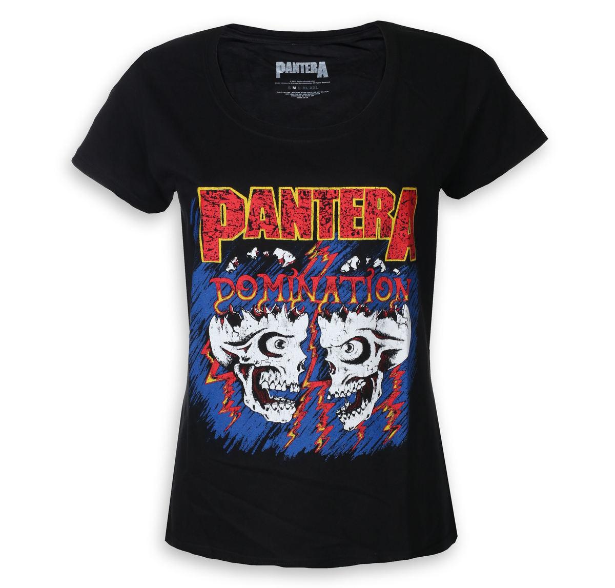 tričko dámske Pantera - Domination - ROCK OFF - PANTS15LB