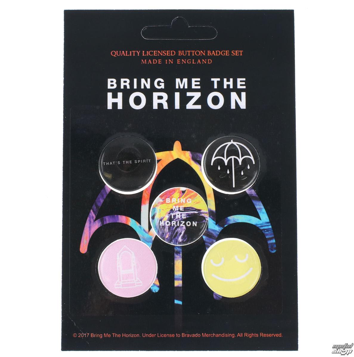 odznaky Bring Me The Horizon - RAZAMATAZ - BB013