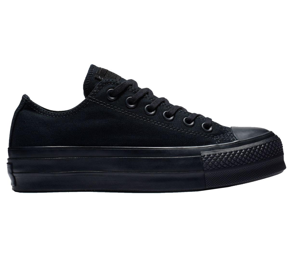 56ea31b3fb201 topánky dámske CONVERSE - CTAS CLEAN LIFT BLACK / BLACK / BLACK ...