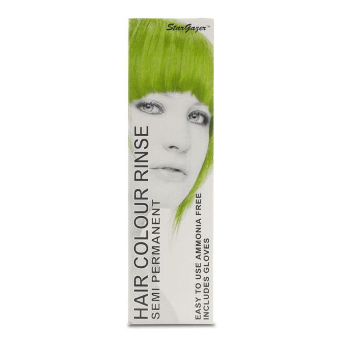 farba na vlasy STAR GAZER - Afr Green - SGS110