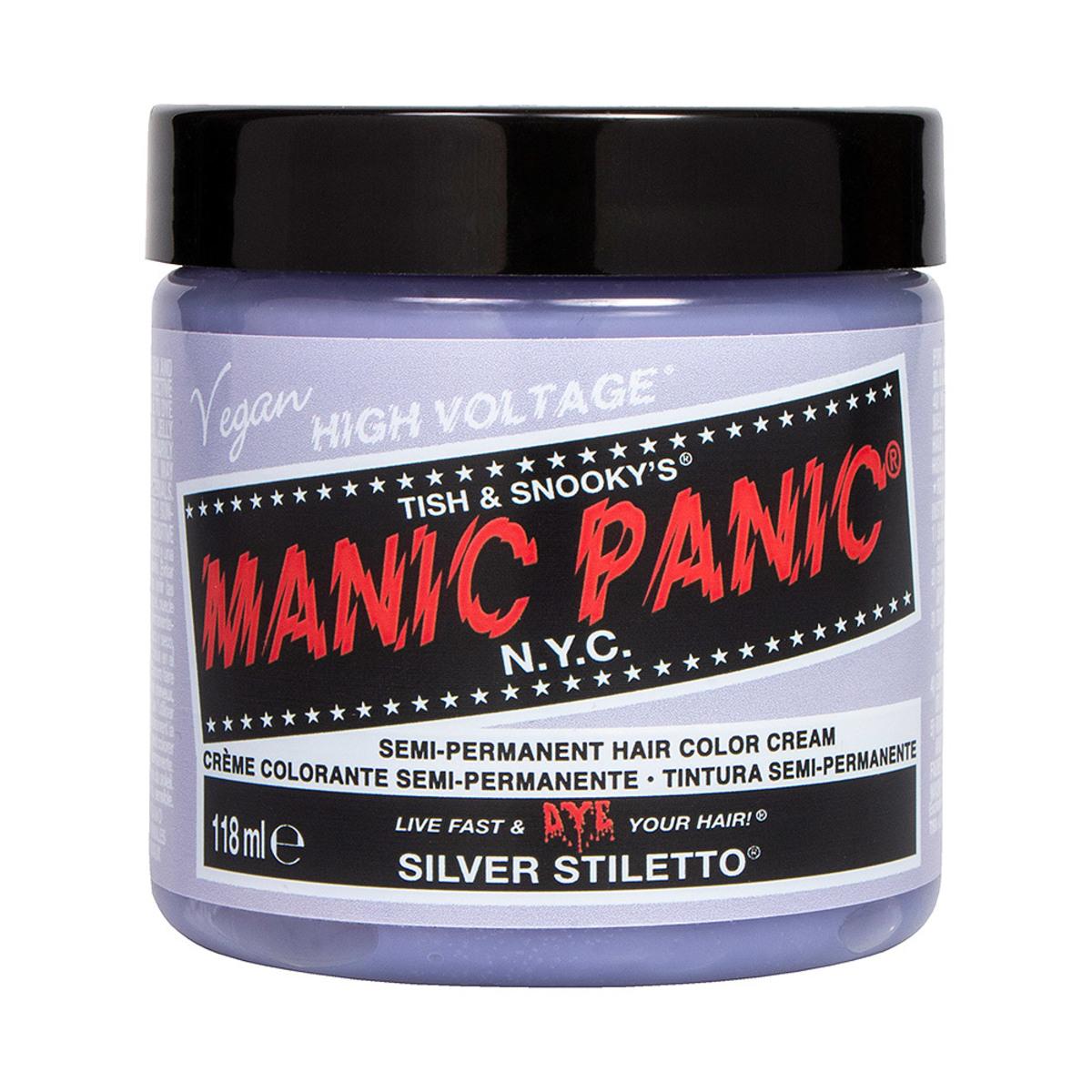 farba na vlasy MANIC PANIC - Classic - Silver Stiletto