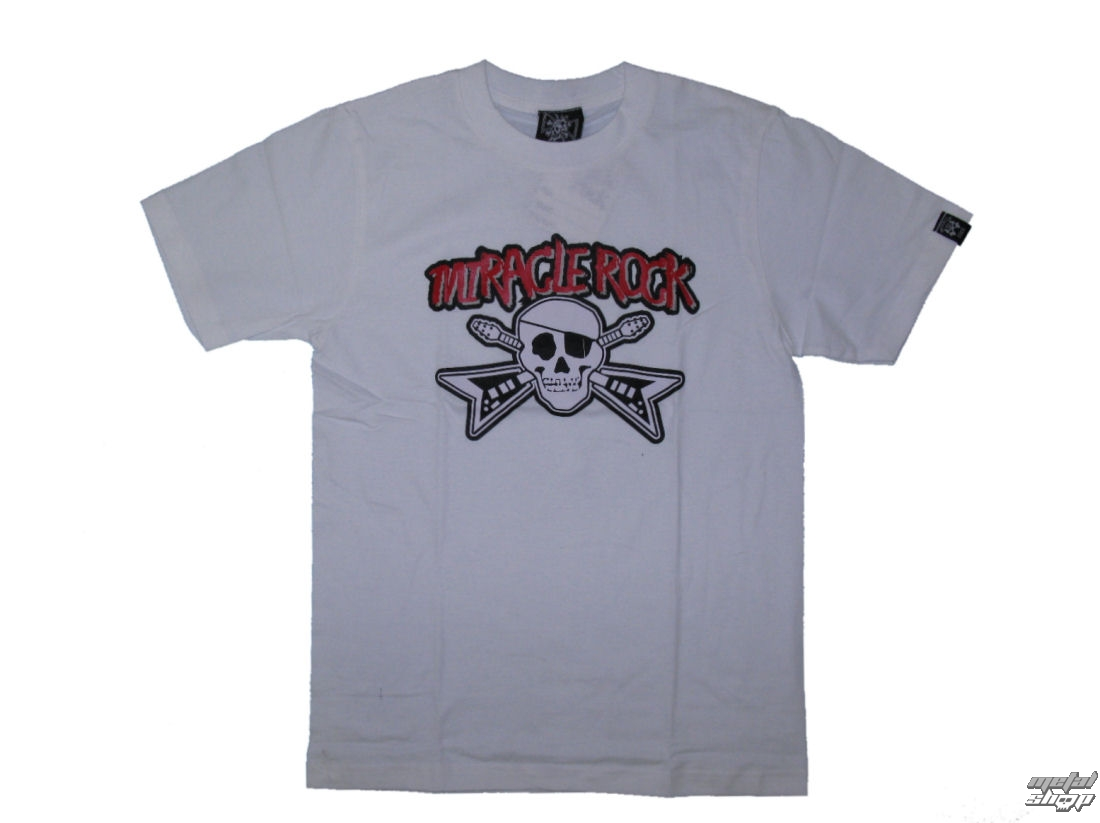 tričko pánské 12099-031 bílé - MIRACLE ROCK