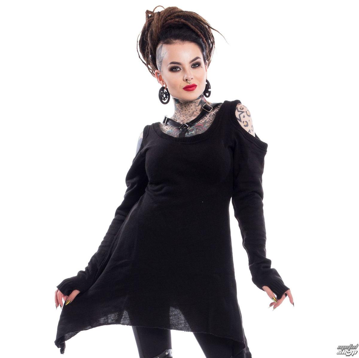 sveter dámsky Poizen Industries - TABITHA - BLACK - POI512