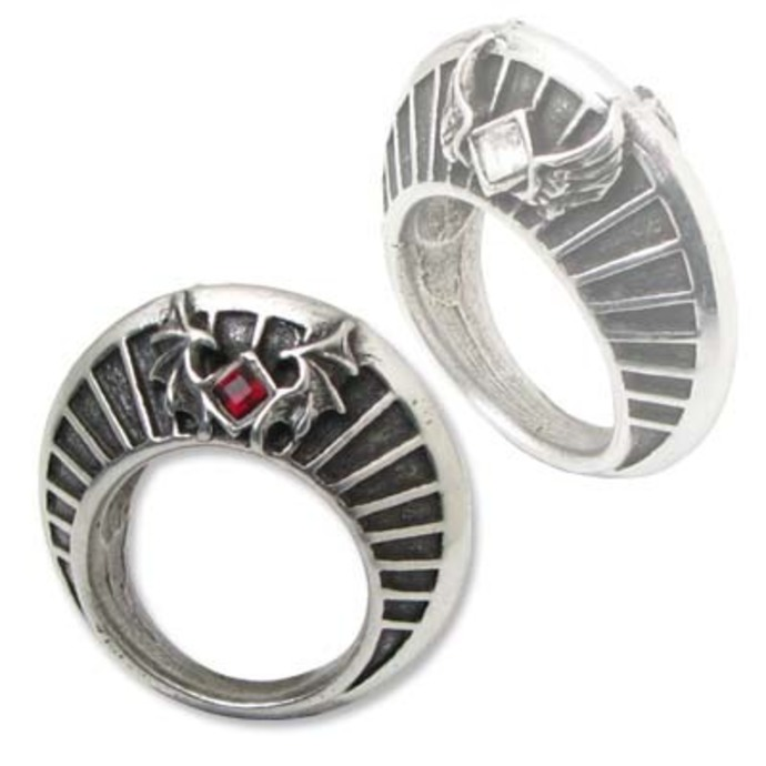prsteň Heaven And Hell - Nimbus Ring - ALCHEMY GOTHIC