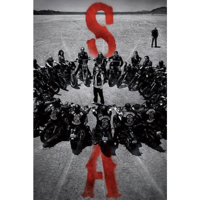 plagát Sons Of Anarchy - Circle - PYRAMID POSTERS