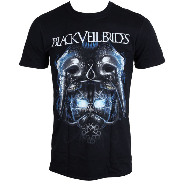 tričko pánske BLACK VEIL BRIDES - Metal Mask - BLK - LIVE NATION