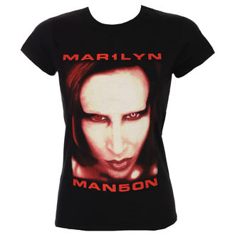 tričko dámske Marilyn Manson - Bigger Than Satan - ROCK OFF, ROCK OFF, Marilyn Manson