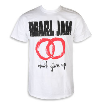 tričko pánske Pearl Jam - Don't Give Up White, NNM, Pearl Jam