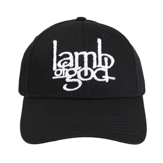 šiltovka Lamb Of God - Logo - ROCK OFF, ROCK OFF, Lamb of God