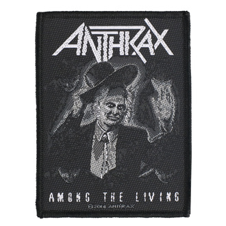 nášivka Anthrax - Among The Living - RAZAMATAZ, RAZAMATAZ, Anthrax