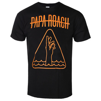 tričko pánske Papa Roach - Hand Icon - Black - KINGS ROAD, KINGS ROAD, Papa Roach