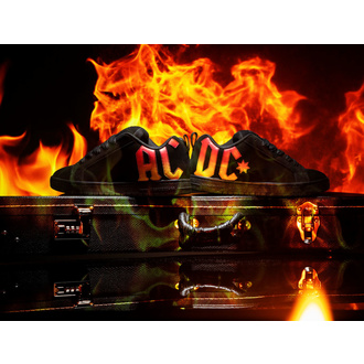 topánky DC - AC/DC - HIGHWAY TO HELL - BLACK GRADIENT, DC, AC-DC