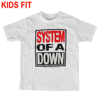 tričko detské System of a Down - Logo - Metal-Kids, Metal-Kids, System of a Down