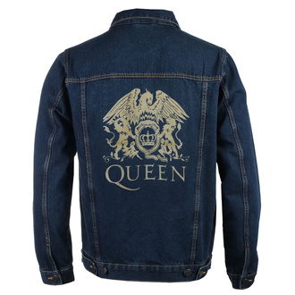 bunda pánska Queen - Classic - DENIM - ROCK OFF, ROCK OFF, Queen