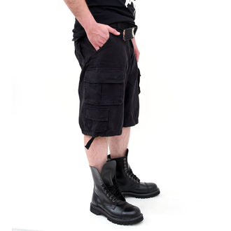 kraťasy SURPLUS - DIVISION SHORT - BLACK - 07-5598-63