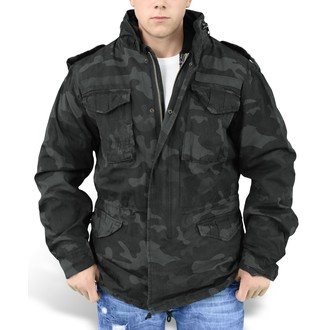 bunda pánska SURPLUS - Regiment M65 - BLACK CAMO, SURPLUS
