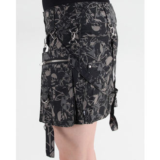sukně dámská HEAVENLY DEVIL - DEV33 - Skirt SkullCamo
