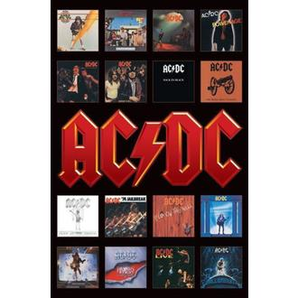 plagát - AC/DC (Album Covers) - PP30748 - Pyramid Posters