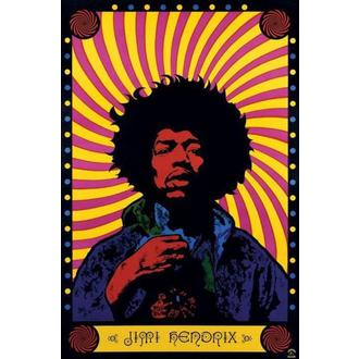 plagát Jimi Hendrix (Psychedelic) - PP30356 - Pyramid Posters