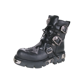 topánky NEW ROCK - Cross Shoes (407-S1) Black-Grey - N-8-54-700-08
