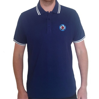 tričko pánske The Who - Target Logo - NAVY Polo - ROCK OFF, ROCK OFF, Who